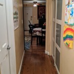 Hallway reverse view